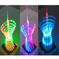 DIY suit LED Light Cube Canton Tower suite RGB full color small waist shape