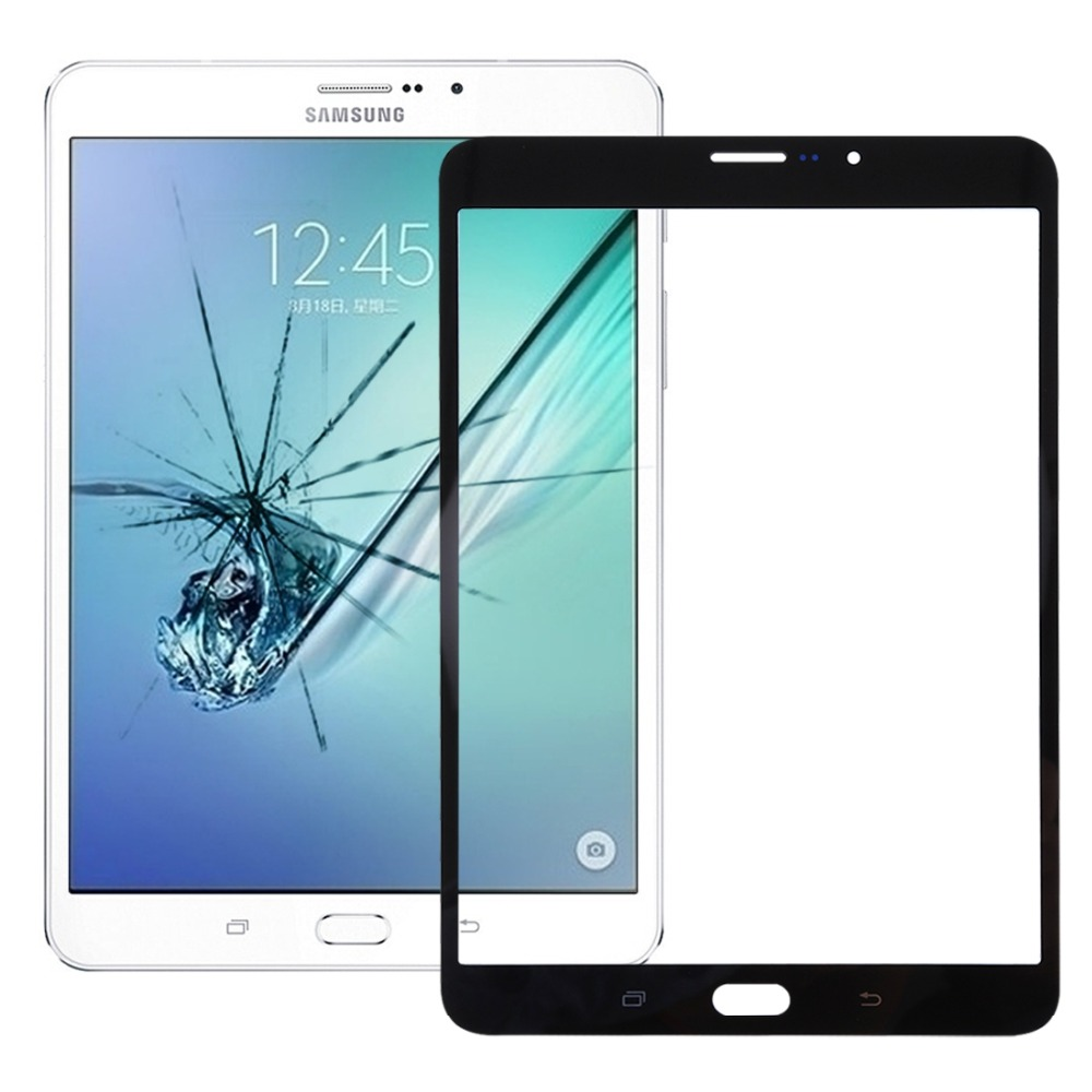 New For Galaxy Tab S2 8.0 LTE / T719  Front Screen Outer Glass Lens
