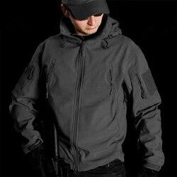 2019 militar escudo macio tático jaqueta ao ar livre caminhadas caça swat treinamento casacos outerwear à prova dwaterproof água todas as categorias XS-5XL