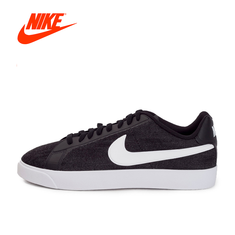 Original New Arrival 2017 Authentic NIKE COURT ROYALE LW CANVAS Men's Skateboarding Shoes Sneakers brand new original authentic brs15b
