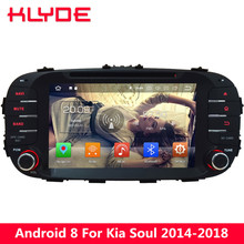 KLYDE Android 8.0 4G Octa Core 4GB RAM 32GB ROM FM Car DVD Multimedia Player Radio Stereo For Kia Soul 2014 2015 2016 2017 2018