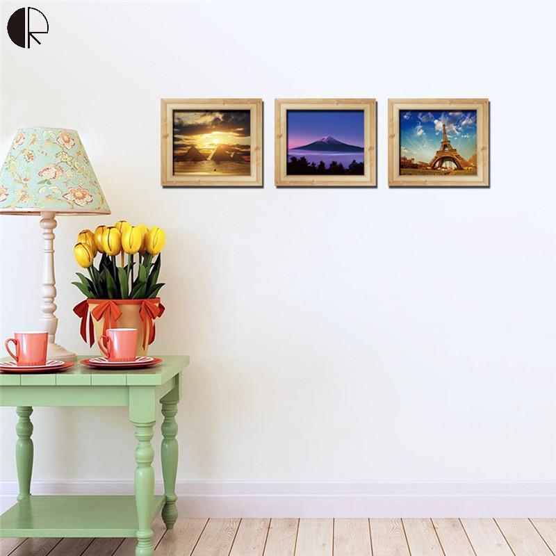 Super Creative Diy Home Wall Decorative Scenery Wall Art