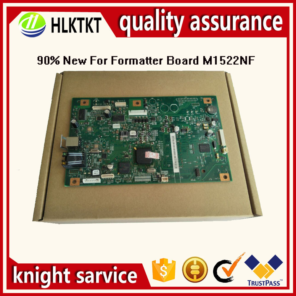 CE831-60001 CE832-60001 CC368-60001 Formatter board for HP laserjet M1522nf 1522NF M1132MFP M1132 M1212 M1212NF MainBoard free shipping ce831 60001 laserjet pro m1132 1215 1212formatter board 125a pressure roller printer parts on sale