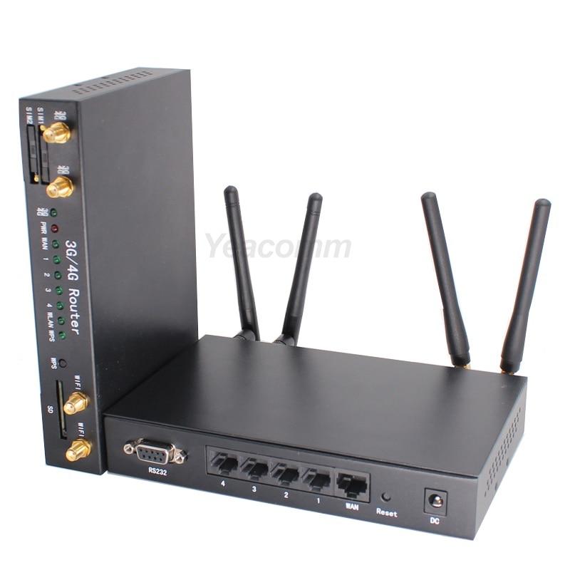 A basso costo ad alta velocità CAT4 R340 Serie Dual sim LTE bus WI-FI 4G router per il Veicolo