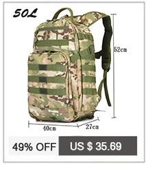 Bags 60 l waterproof backpack military 3 P backpack fashion School bag leisure notebook laptop aircraft best backpack male