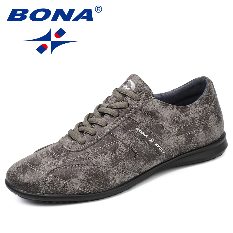 BONA New Classics Style Men Casual Shoes Lace Up Men Loafers Microfiber Male Flats Comfortable Men Shoes Light Free Shipping цена 2017