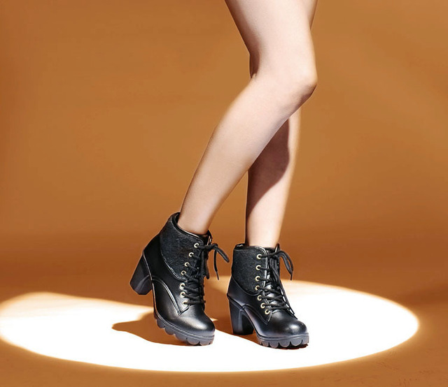 e00adc8867034 Hot sale 2015 latest womens Knight boots ladies fashion boots high cut shoe  leather female Winter shoes the woman size 35-39EURO