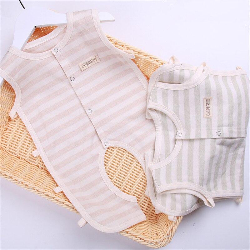 ea72754f6 1 Pcs Baby Summer Pajamas Newborn Boy Girl Sleeveless Rompers ...