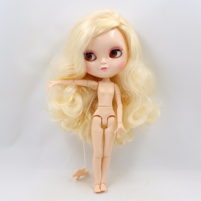 ICY Neo Blythe Doll Blonde Hair Azone Body