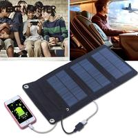 New Arrival Thin 5W 5V Solar Battery Charger Portable Travelling Professional Solar Panel DIY Gift Smartphone