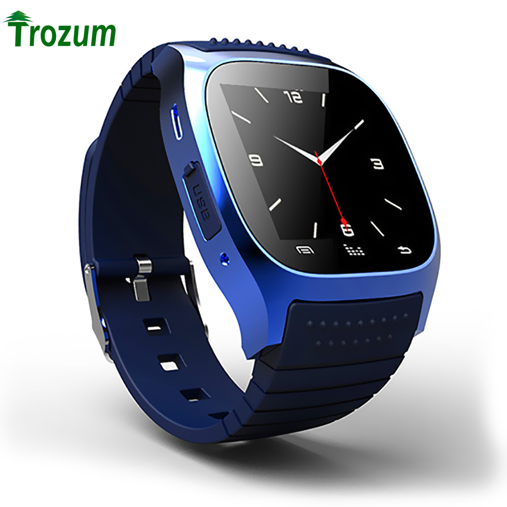 NEW Bluetooth Smart Watch M26 life Waterproof Smartwatch With LED Alitmeter Music Player Pedometer For IOS Android Smart Phone