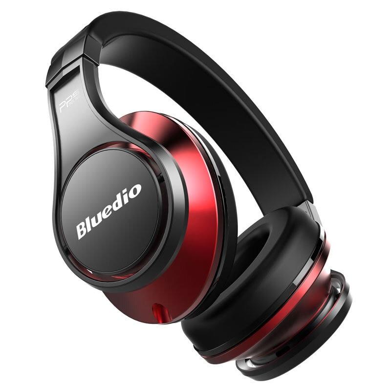 Bluedio U UFO casque Bluetooth 3D basse stéréo HiFi sur l'oreille casque sans fil avec Microphone pour iPhone Xiaomi Huawei Android