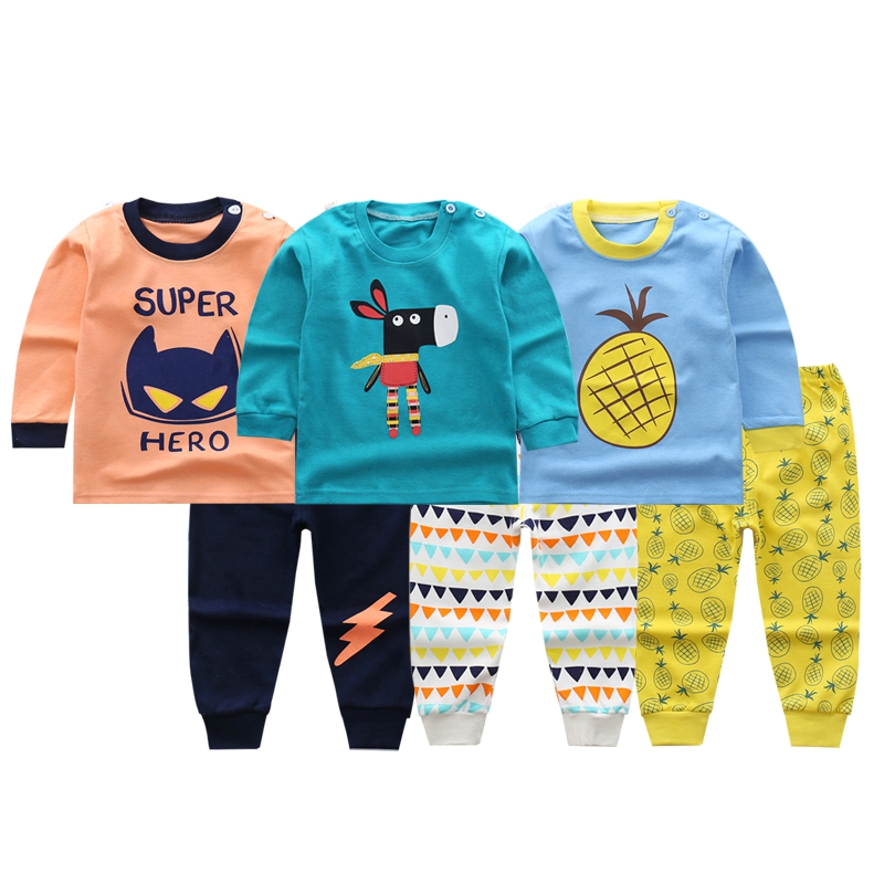 c6af3d1ff958 BBYIFU Autumn Winter Baby Clothes Set Cotton Infant Toddler Girl Boy ...