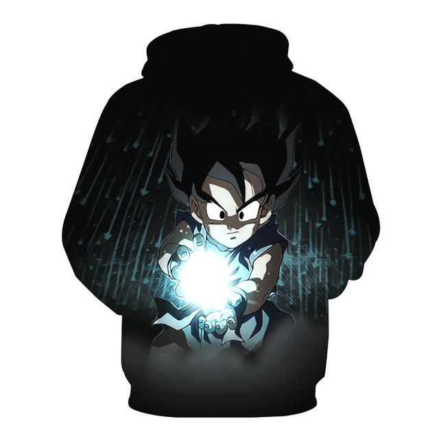 Kid Goku Black Hoodie