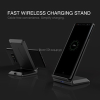 NILLKIN QI Fast Stand Wireless Charging 9V 1 7A 5V 2A High Quality Phone Fast Wireless