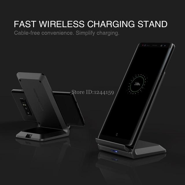 NILLKIN צ י מהיר סטנד אלחוטי טעינה 9V 1.7A/5V 2A גבוהה באיכות טלפון מהיר אלחוטי מטען עבור סמסונג עבור Xiaomi עבור huawei