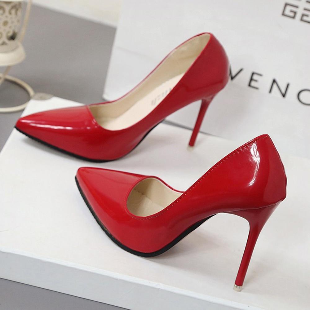 Rose N80nwmvo Femme Chaussures De Nu Pompes Réel Sheos En Marque Minces 0wyNOvnm8