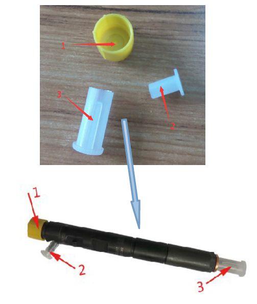 Erikc новый дизельный инжектор запасные части Пластик prot, Пластик производители крышка для защиты инжектор ...