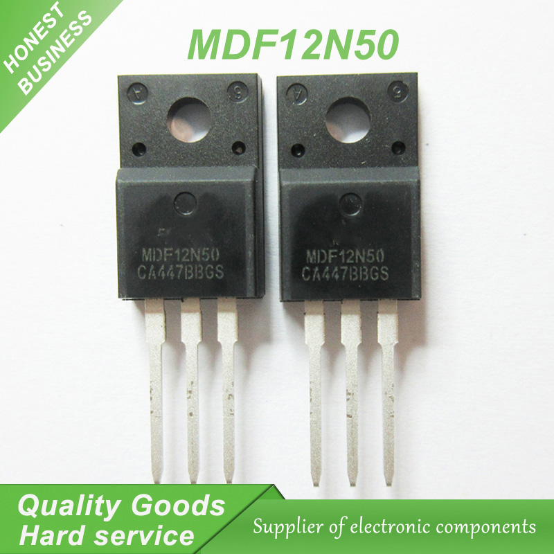 5PCS MDF12N50 12N50 500V 12A  TO-220F Notebook computer peripheral drive chip new original