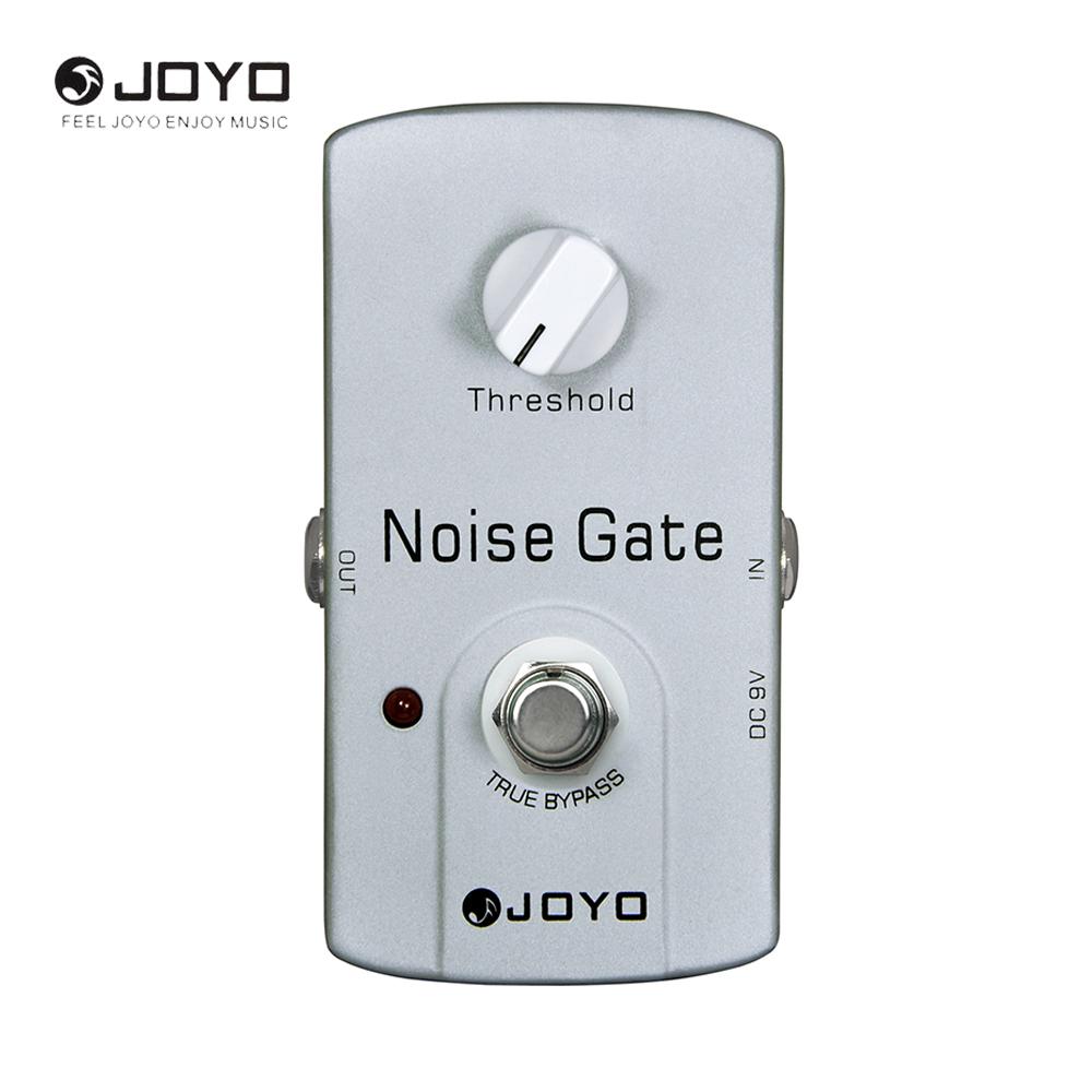 JOYO JF-31 Noise Suppressor/Noise Gate Electric Guitar Effect Pedal Musical Instrument Guitar Accessories реле omron 2 h1 dc12v gen dpdt 1a 12v h1 12vdc 8pin 10pcs lot g5v 2 h1 12vdc