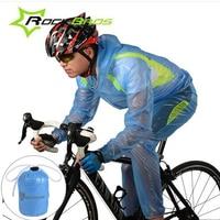 Rockbros Cycling Bicycle Riding Raincoat Waterproof Cycling Rain Jacket Suit Climbing Hiking Fishing Rainwear Rainproof Pants