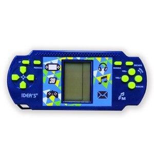Image 3 - Wolsen Goedkopere Tetris Brick Handheld Game Player Pocket Speelgoed Handige Console Baksteen Game Radio Functie Grote Gift Voor Kid