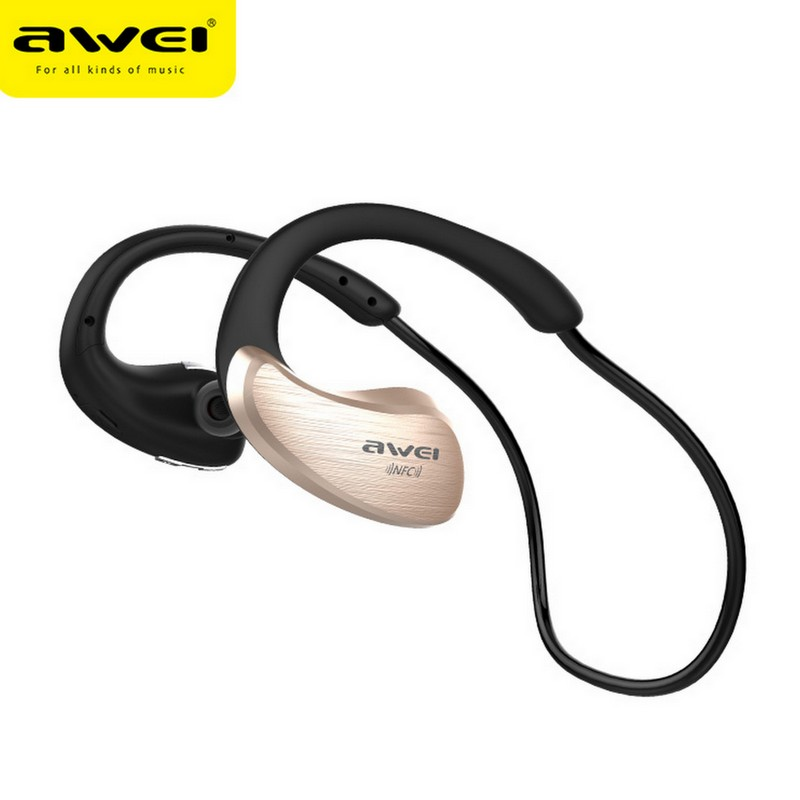 Awei A885BL Bluetooth Headphones Sport Wireless Earphones Earbuds Headset With Microphone fone de ouvido Auriculares Ecouteur wireless headphones bluetooth earphone sport fone de ouvido auriculares ecouteur audifonos kulaklik with nfc apt x