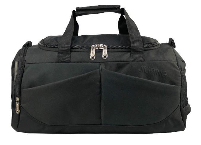 Хит, мужская сумка для путешествий, вместительная, женская, для багажа, для путешествий, сумки для путешествий, мужская, холщовая, большая, для путешествий, складная, сумка на плечо - Цвет: Black