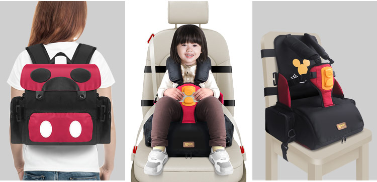kids feeding seat chair baby 5 point harness dining highchairs