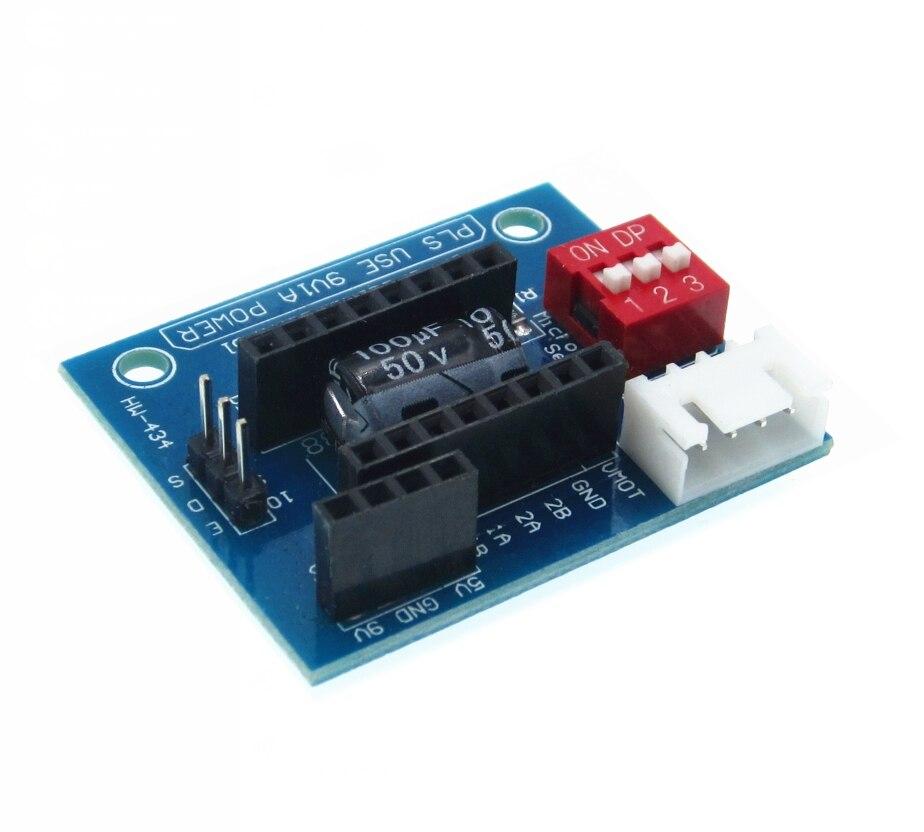 A4988 DRV8825 3D Printer Stepper Motor Driver Control Extension Shield Board New