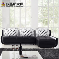 French Style New Sofa Design Black And White Small Size L Shaped Mini House Types Of