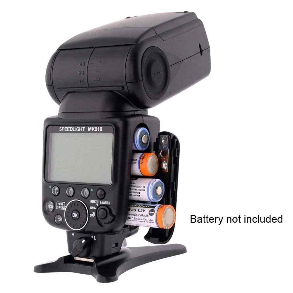 Meike MK910 1/8000s סנכרון TTL מצלמה פלאש אור Speedlite עבור ניקון D7100 D7000 D5300 D5100 D5000 D5200 d90 D70 + מתנה חינם