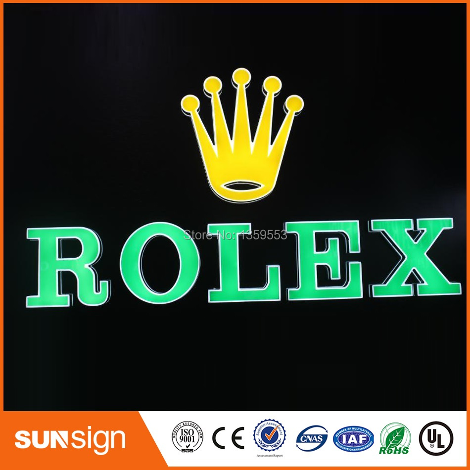 China Electronic Shop High Brightness Led Sign Letters