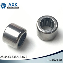 RC162110 Inch Size One Way Drawn Cup Needle Bearing 25.4*33.338*15.875 mm ( 5 Pcs ) Cam Clutches RC 162110 Back Stops Bearings bk2538 drawn cup caged needle roller bearings with closed end 85941 25 the size of 25 32 38mm