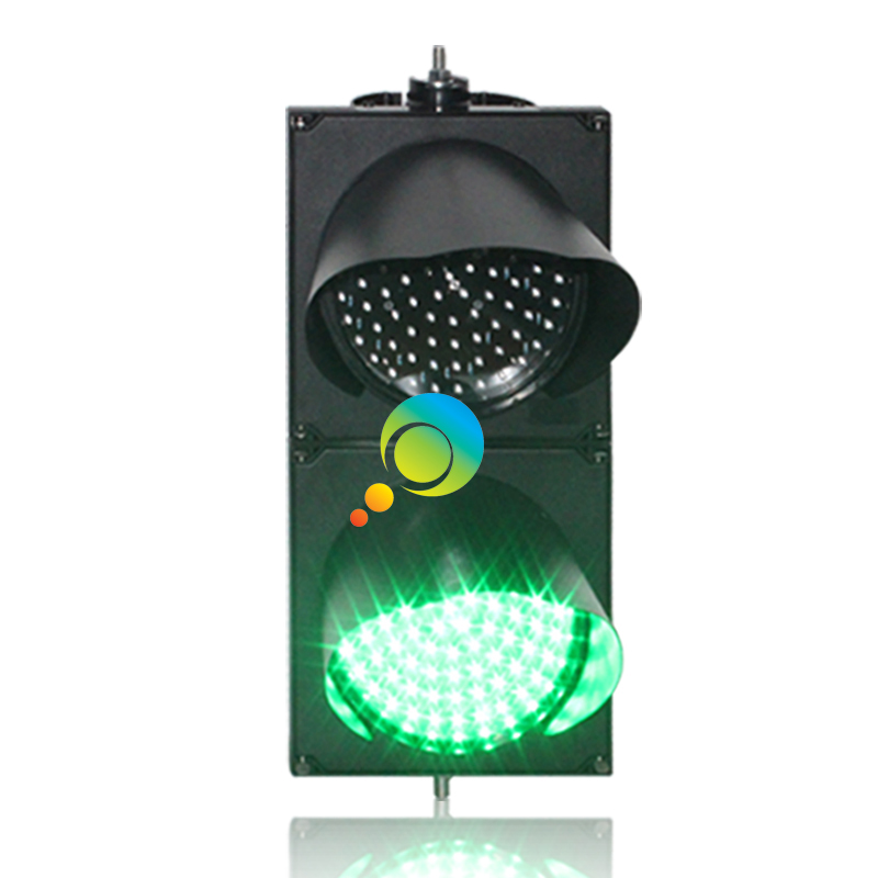 Traffic Light Dc12v Factory Direct Price 200mm Pc Housing Parking Lots Signal Light Red Green Led Traffic Signal Light On Sale