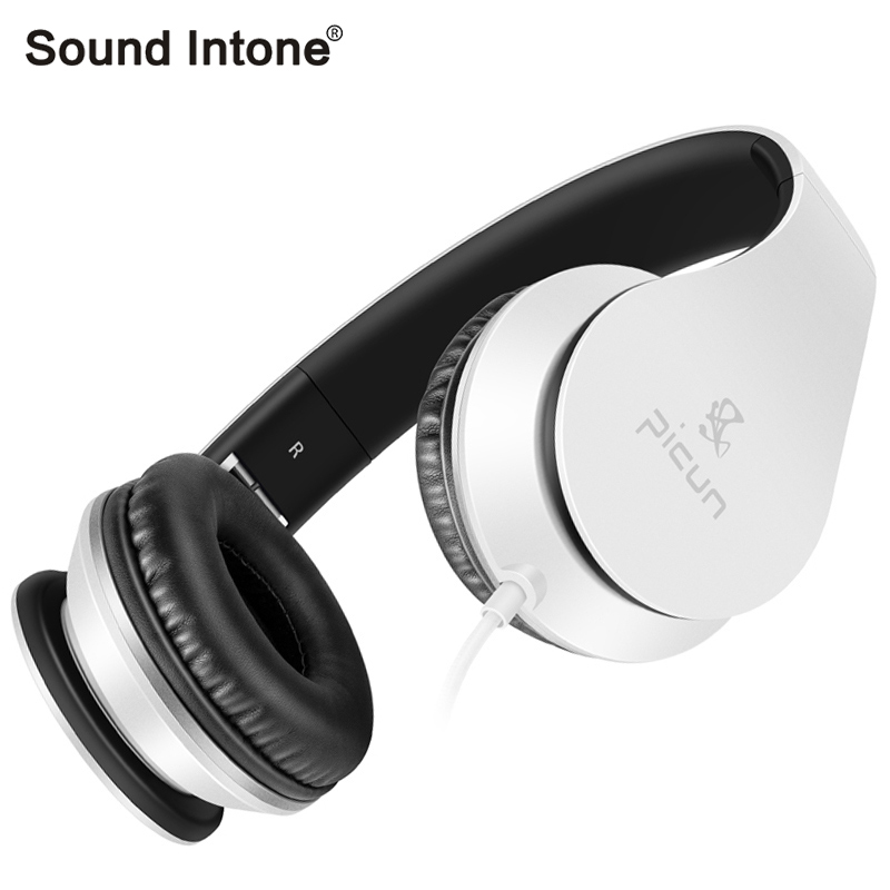 Sound Intone C16 Wired headset Over-ear headphones with Volume Control Stereo have Microphone for iphone for Samsung for xiaomi