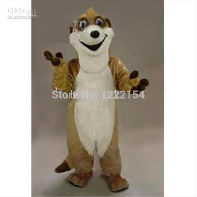 Hot Selling 2017 Adult Cute Meerkat Plush Mascot Costume Adult