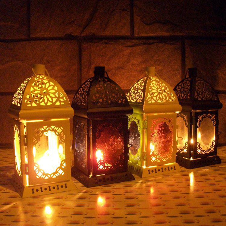 European Style Wall Hanging Votive Candle Holder Wedding Candlestick Lantern Home Decoration Gifts Crafts