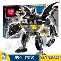 394 unids batman superhéroes sy353 bela bloques de construcción modelo de flash capitán goes bananas gorila grodd ladrillos compatibles con lego