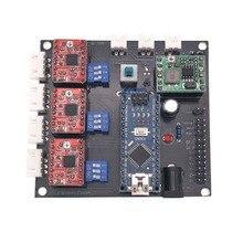 GRBL мини лазерная гравировка лазерная машина С ЧПУ Панели управления доска USB ЧПУ 3 оси шагового двигателя контроллер