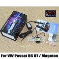 Laser Rear Fog Lamp For Volkswagen VW Passat B6 B7 / Magotan 2006~2015 / Tail Warning Lamp License plate lights installed / LED
