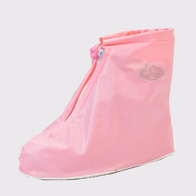 Reusable Low tube Rain Shoe Cover Female Male Children Flat Waterproof Boots Stylish Convenient Reusable PVC Material Shoe Cover