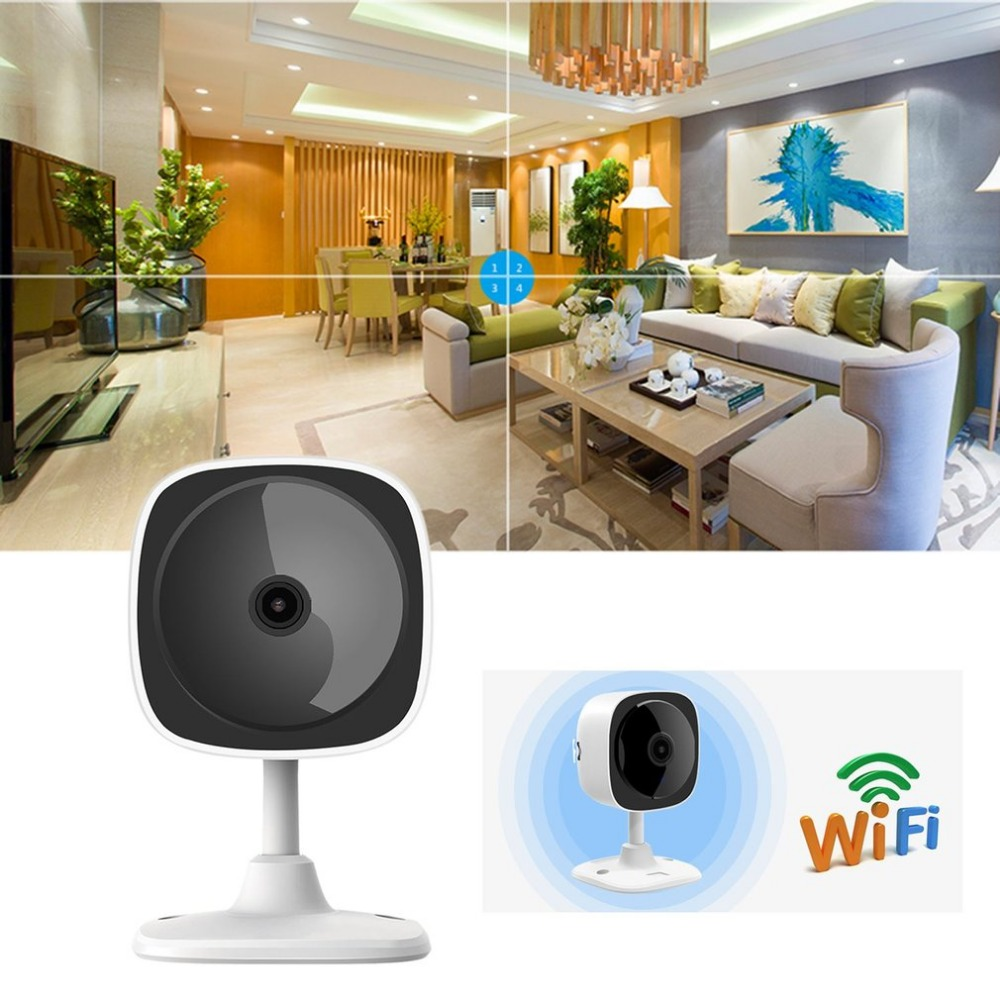 2.4GHz Wireless 180 Degree Panoramic IP Camera 1080P HD Motion Detection Two Way Audio Night Vision Camera Home Security Monitor2.4GHz Wireless 180 Degree Panoramic IP Camera 1080P HD Motion Detection Two Way Audio Night Vision Camera Home Security Monitor