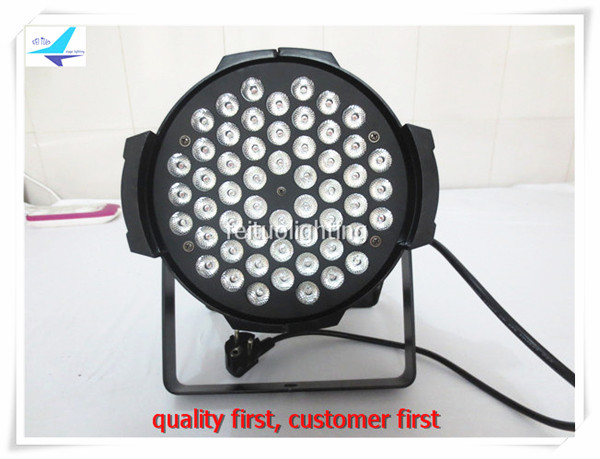 free shipping 12pcs/lot China 54X3W LED PAR Light RGBW DMX 512 Stage Lighting Led Par 64 Indoor Par Cans Disco dj lamp 16x lot rasha free shipping ce approved rgbw 54 3w led par light stage par64 light for disco stage party