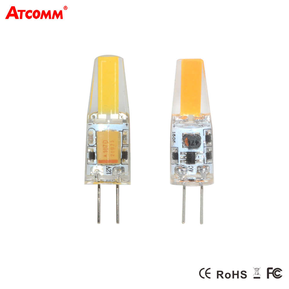 Cob LED G4 Lamp 3W 6W LED Diode Spotlight Bulb AC/DC 12V Replace For Chandelier Crystal Lamp High Lumen No Flicker G4 Lampada