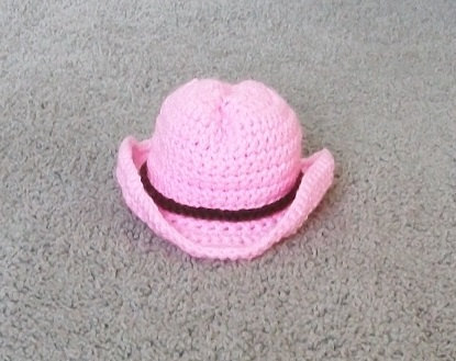 baby cowgirl hat newborn photo proptwin cowboy hats crochet cowboy hat