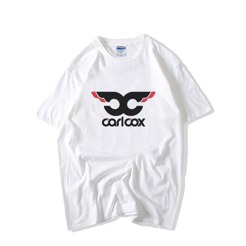 Carl Cox T Shirt the United Kingdom Pop Music DJ T-shirt Rock Disco Party Summer Classic Tee Shirt