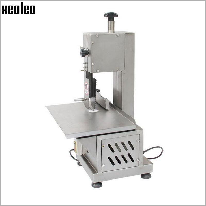 все цены на Xeoleo Stainless steel Bone sawing machine Commercial Bone cutting machine Frozen meat cutter 110V/220V cut Ribs/Fish/Meat/Beef
