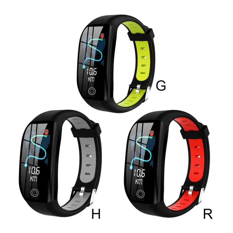F21 Smart Bracelet Fitness Heart Rate Monitor Activity Tracker Health Wristband Pedometer Smartband Watch For Android IOS image
