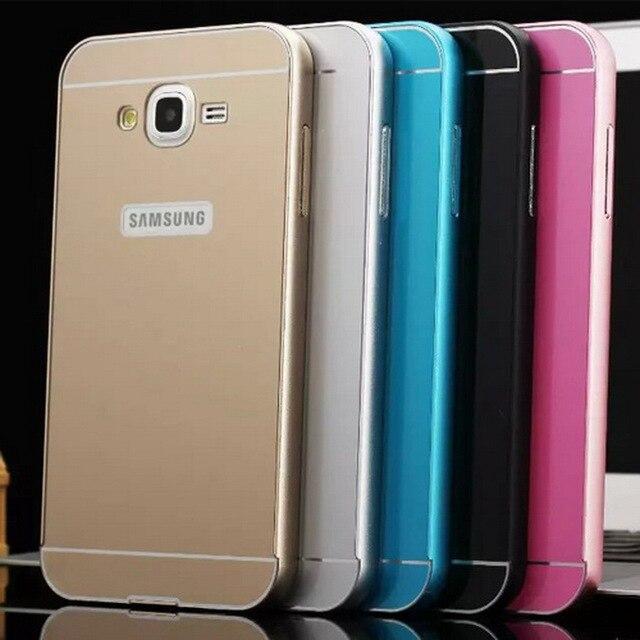 meet 41f5b 93dea US $4.68 |Cover Capa For Samsung Galaxy J5 J7 Case Metal Aluminum Bumper  Frame + Acrylic Hard Case For Samsung J5 J7 J700 Cover Capa Case on ...